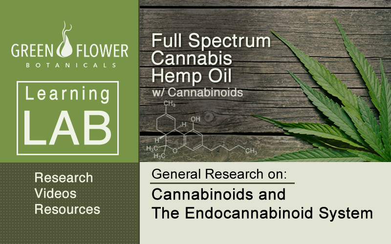LearningLab-Full Spectrum Hemp Oil-General Research