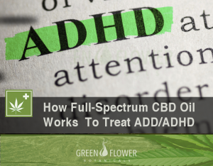 How Full-Spectrum CBD Oil Works To Treat ADD and ADHD