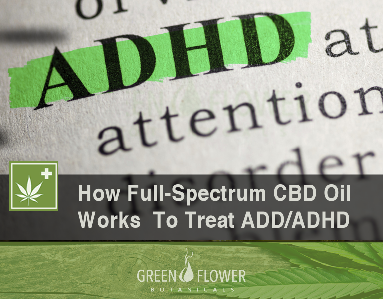 How Full Spectrum CBD Oil Works To Treat ADD and ADHD