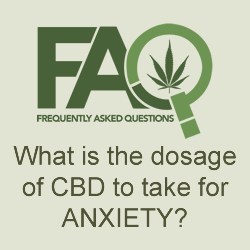 What is the best dosage of CBD for anxiety related disorders