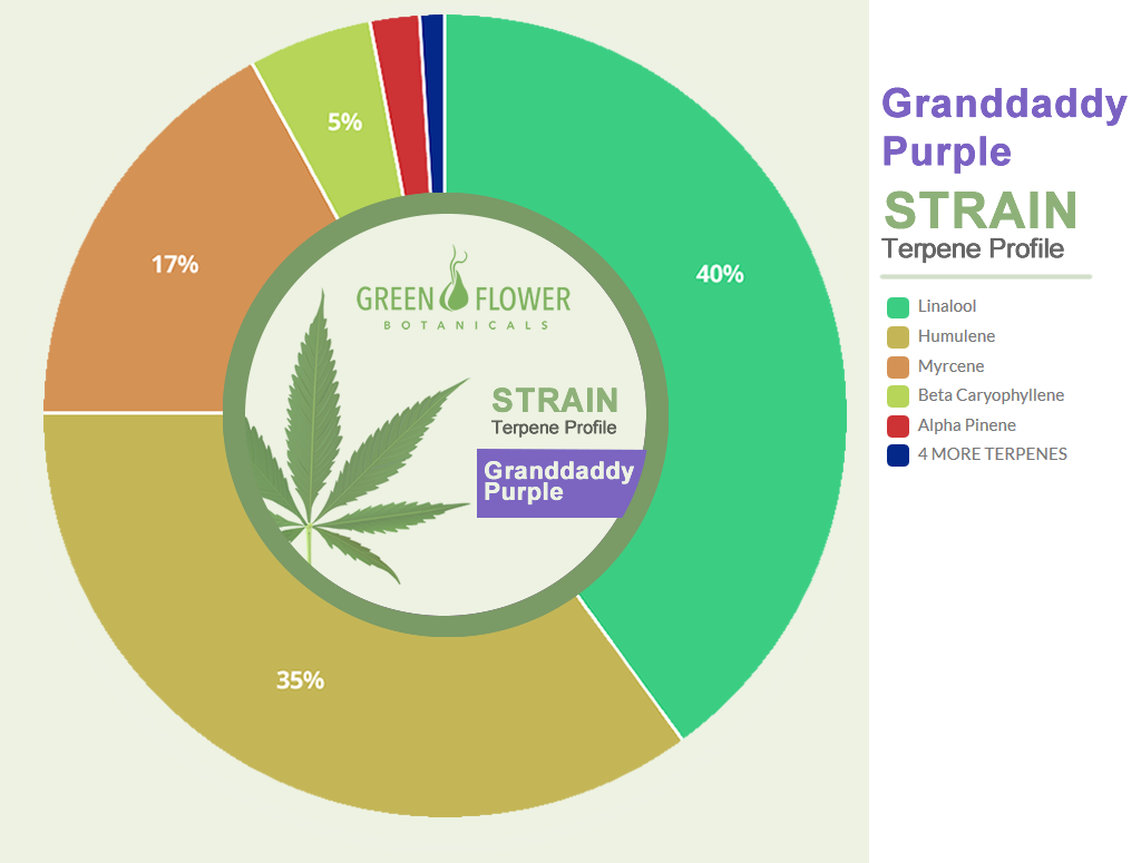 Strain Profile Grandaddy Purple CBD Oil