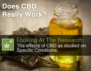 Does CBD Really Work - Looking At The Research