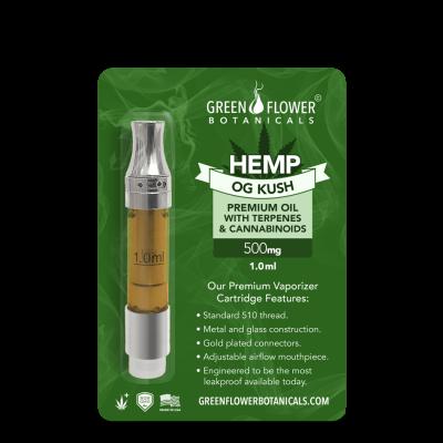 CBD Vape Cartridges & Kits - Green Flower Botanicals : Green